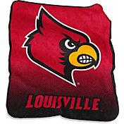 Louisville Cardinals Raschel Throw