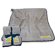 Michigan Wolverines Frosty Fleece Blanket