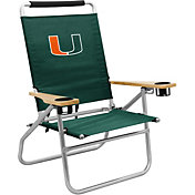Miami Hurricanes Beach Chair