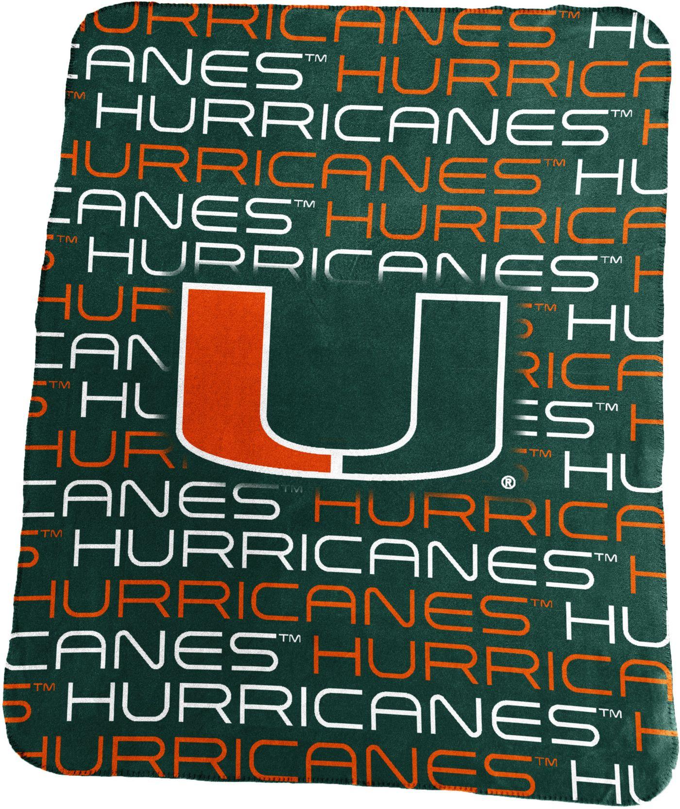 Miami Hurricanes Classic Fleece Blanket