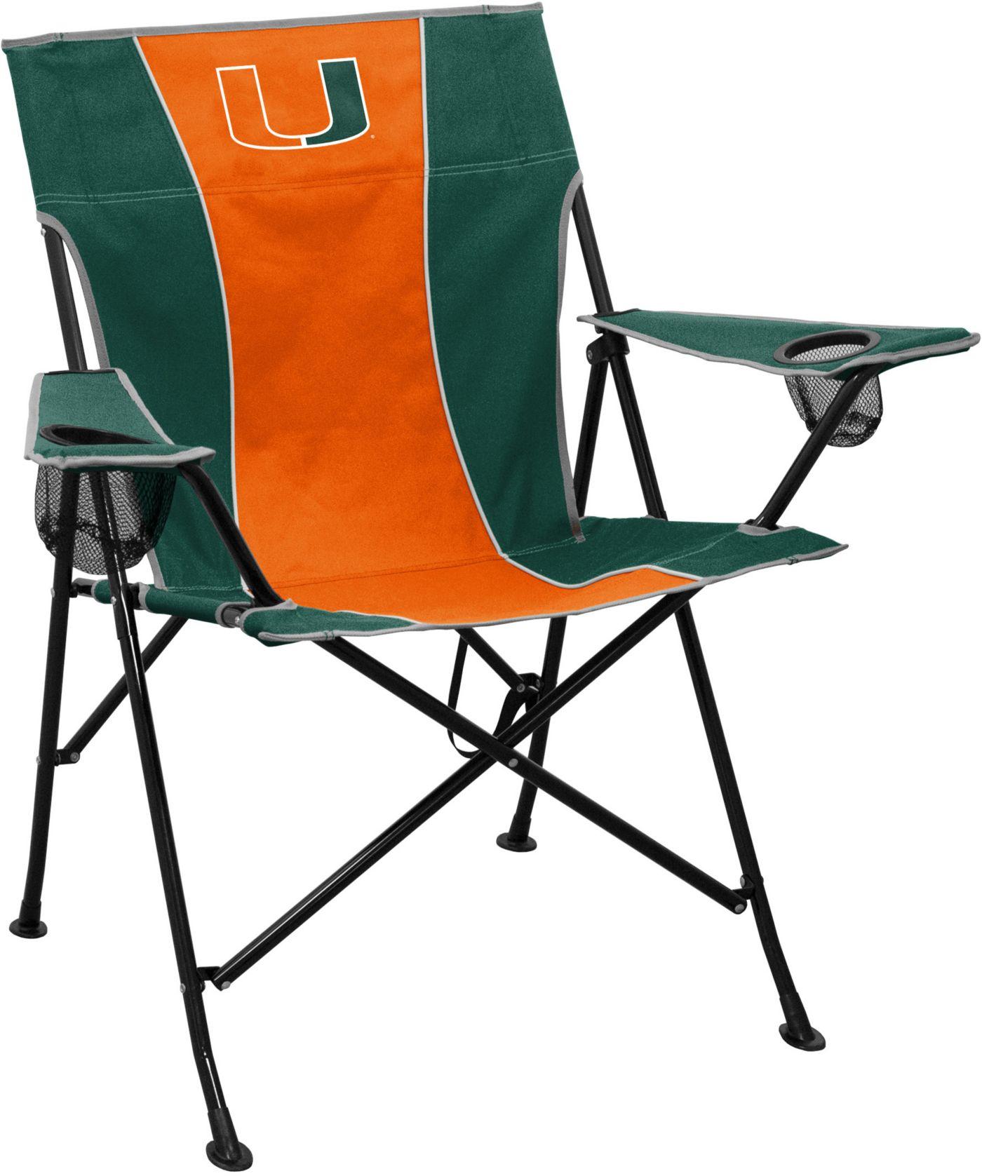 Miami Hurricanes Pregame Chair