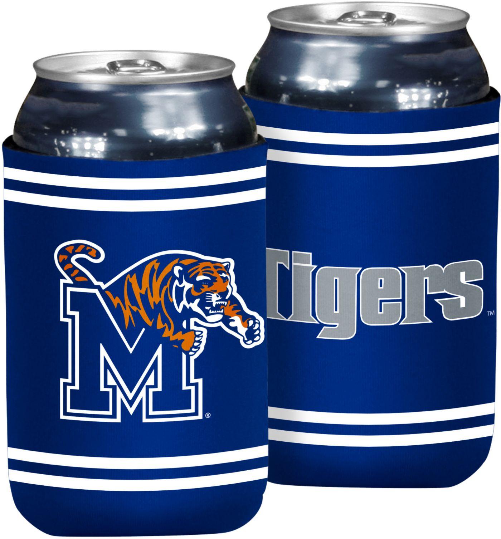 Memphis Tigers Flat Koozie