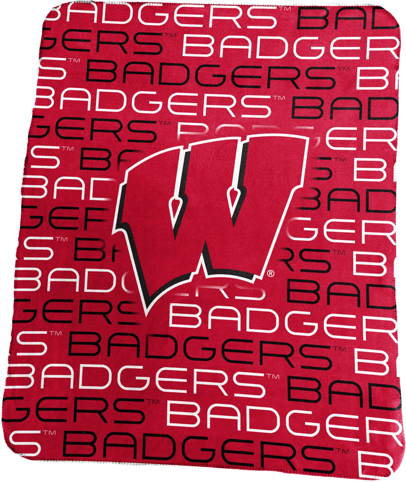 Wisconsin Badgers Classic Fleece Blanket