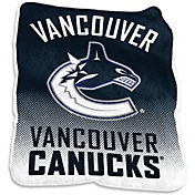 Vancouver Canucks Raschel Throw