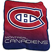 Montreal Canadiens Raschel Throw