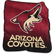 Arizona Coyotes Raschel Throw
