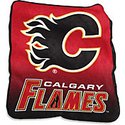 Calgary Flames Raschel Throw