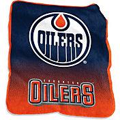 Edmonton Oilers Raschel Throw