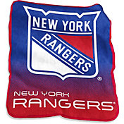 New York Rangers Raschel Throw