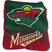 Minnesota Wild Raschel Throw
