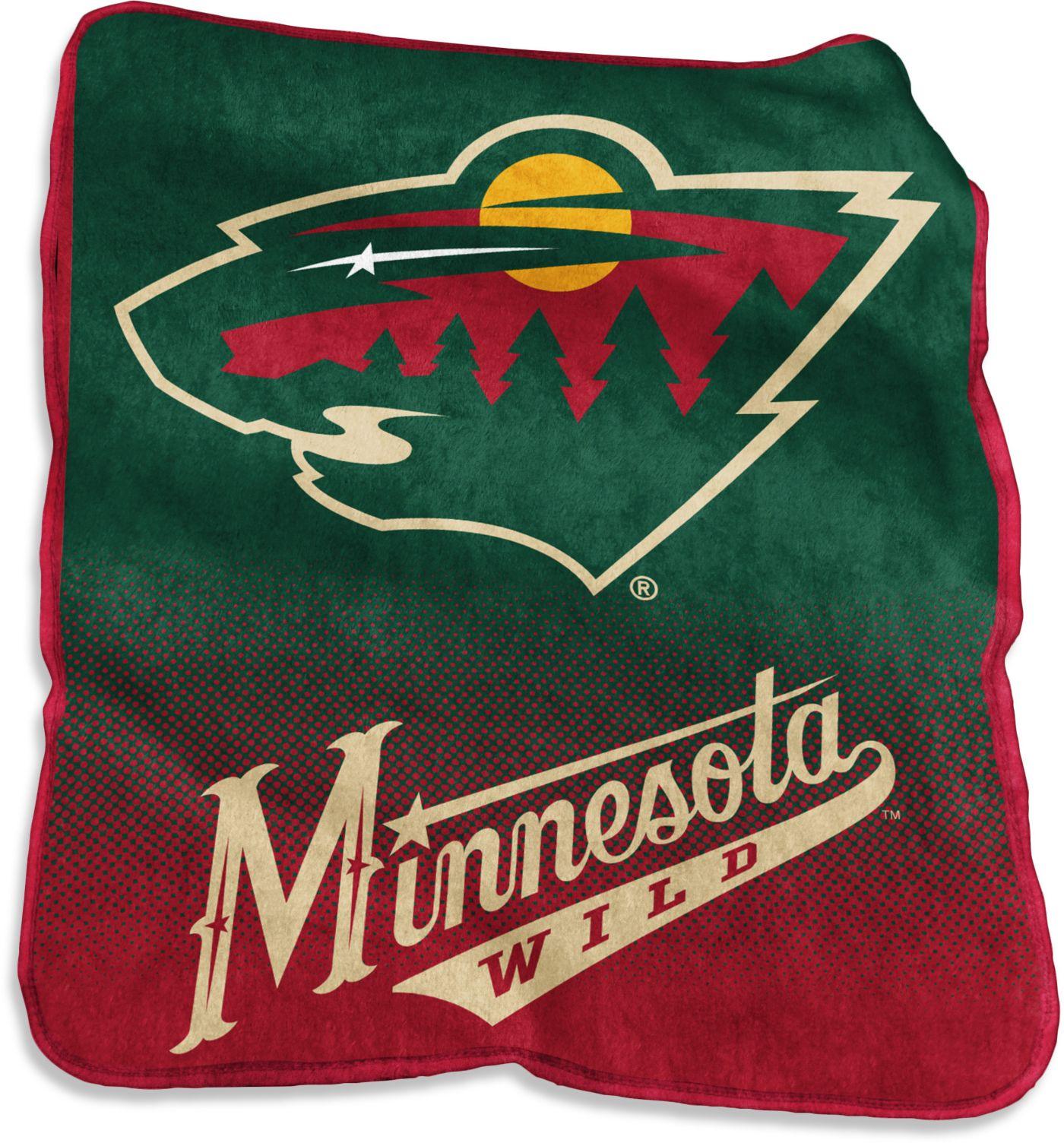 Minnesota Wild Raschel Throw