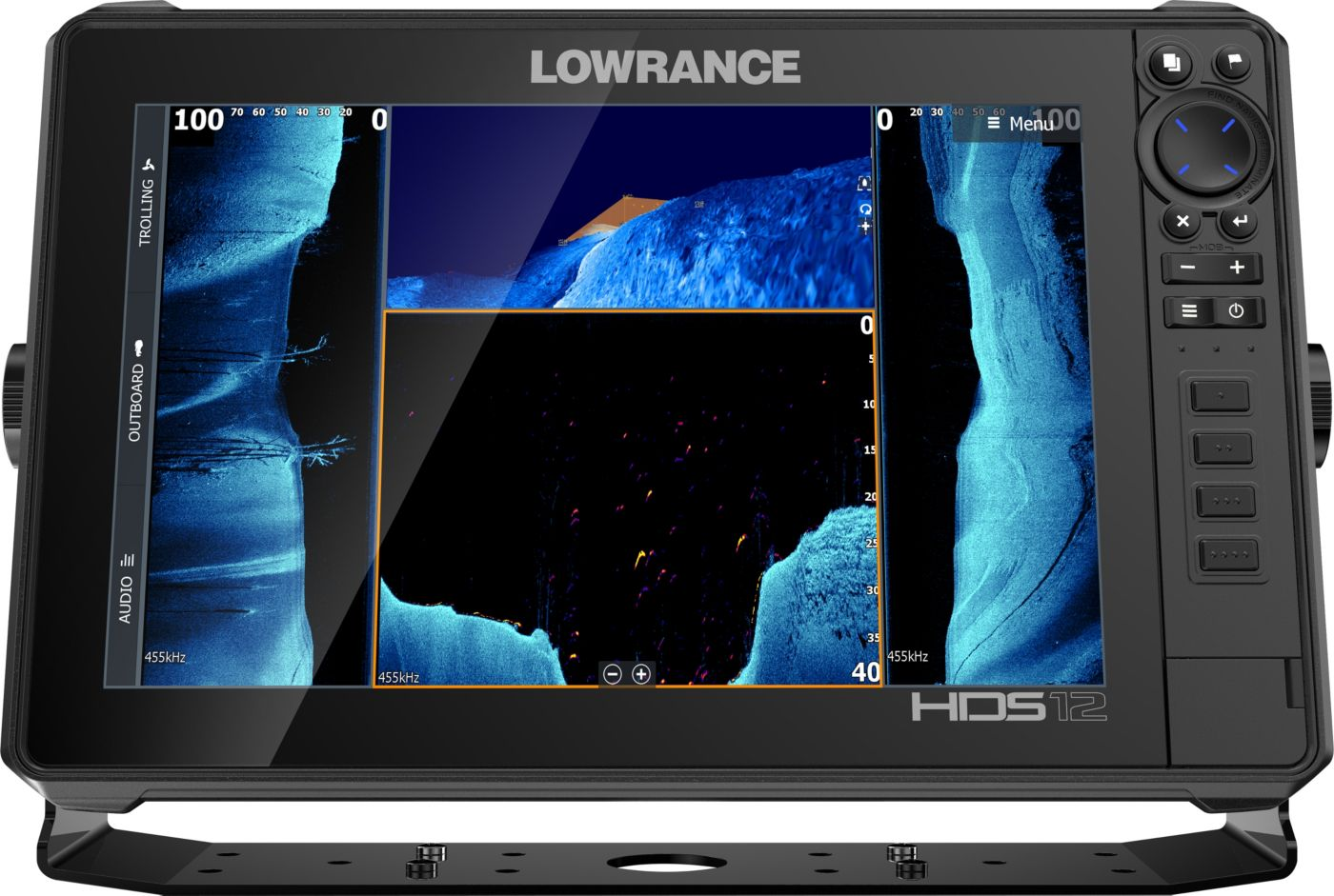 Lowrance HDS-12 LIVE GPS Fish Finder with Active Imaging (000-14428-001)