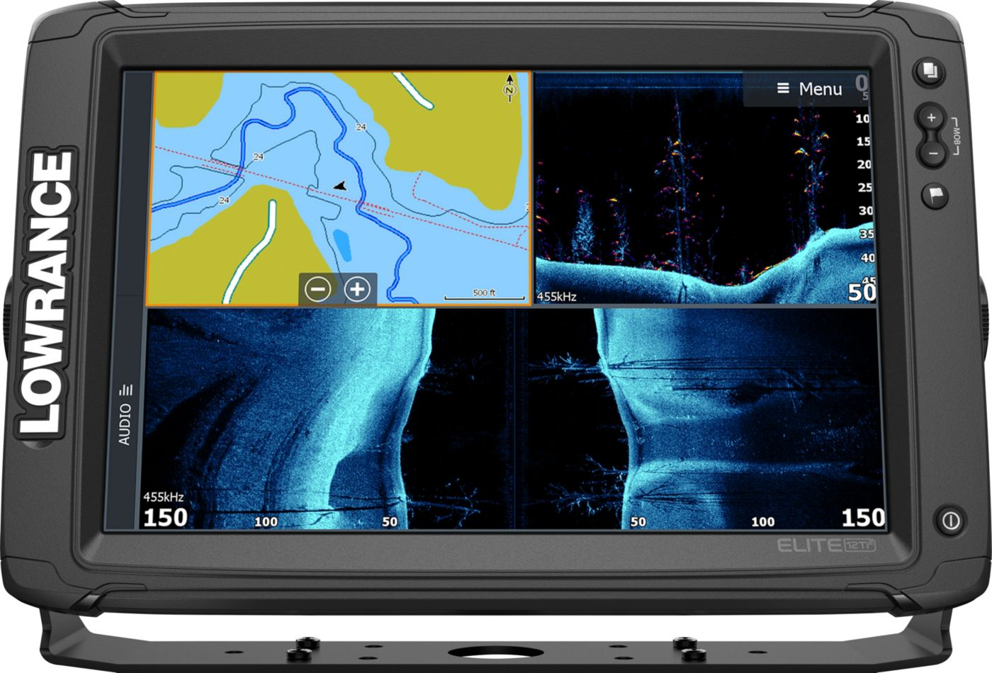 Lowrance Elite-12 Ti2 GPS Fish Finder with Active Imaging (000-14658-001)