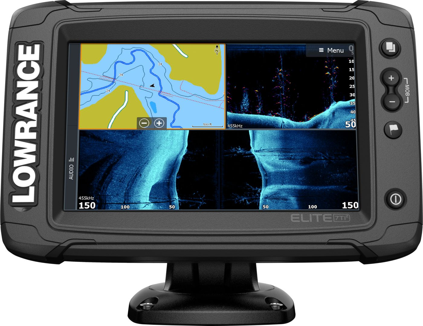 Lowrance Elite-7 Ti2 GPS Fish Finder with Active Imaging (000-14638-001)