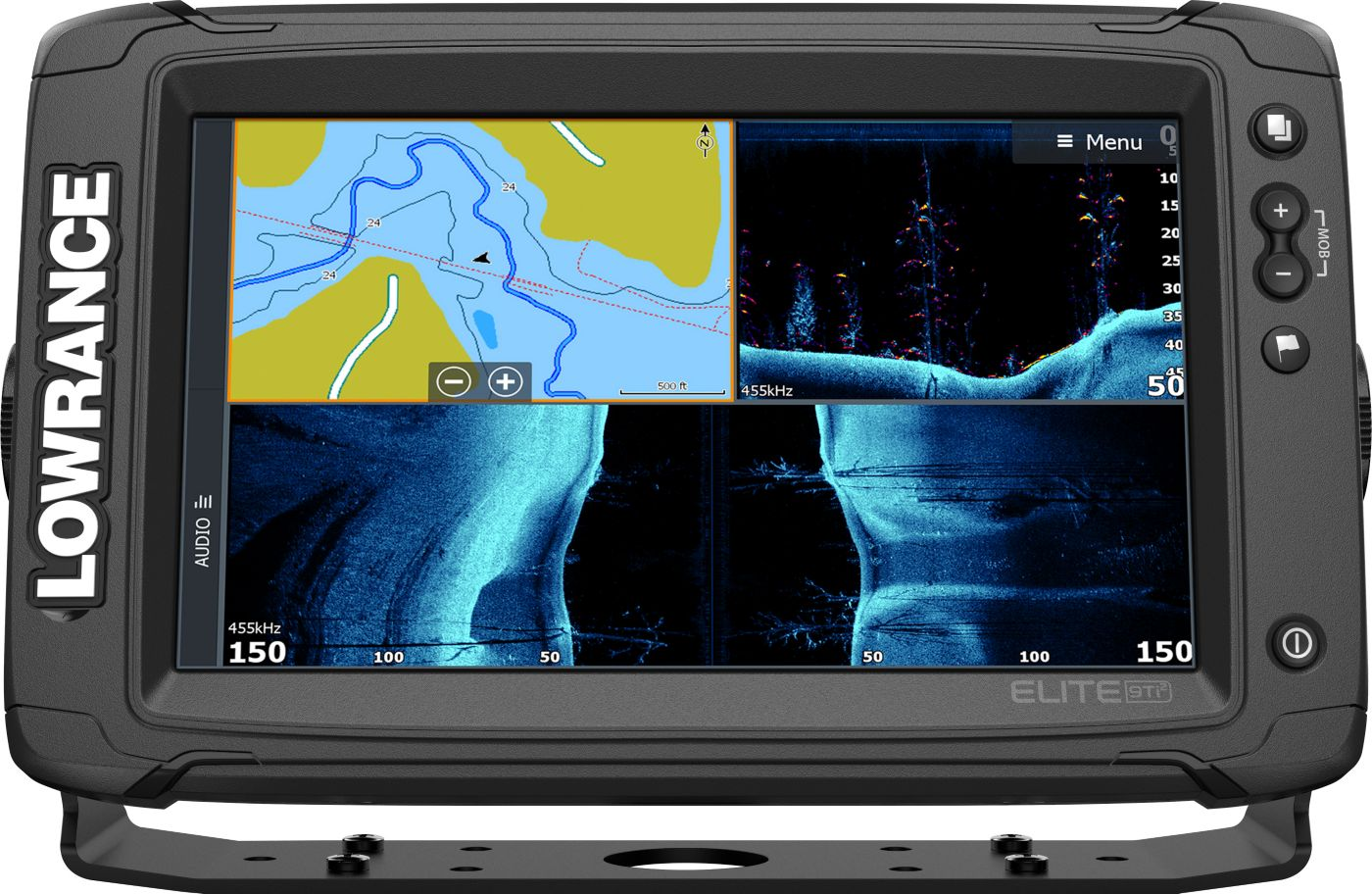Lowrance Elite-9 Ti2 GPS Fish Finder with Active Imaging (000-14638-001)