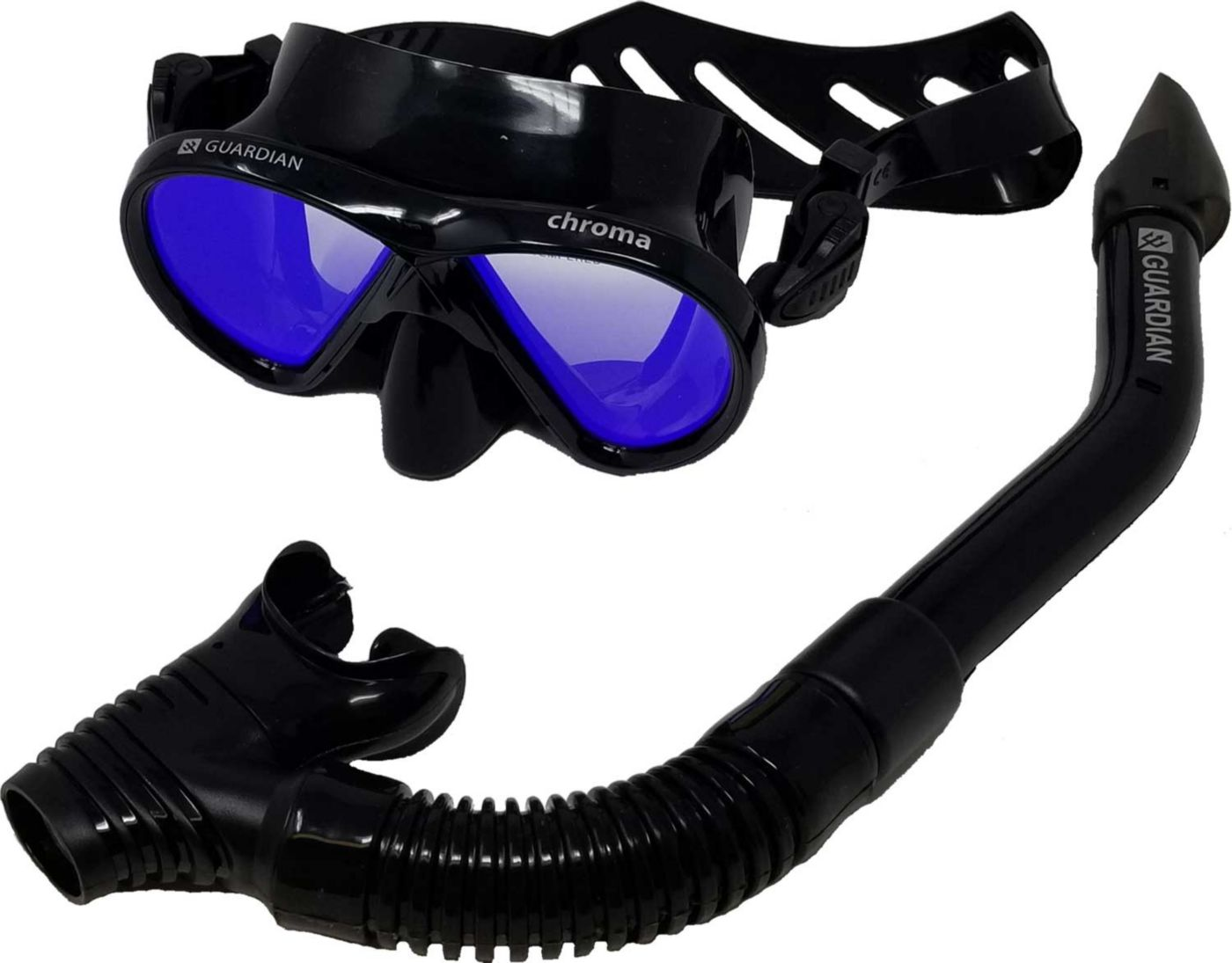 Guardian Chroma HD Mirrored Snorkeling Combo