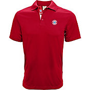 Levelwear Men's Bayern Munich Helium II Red Polo