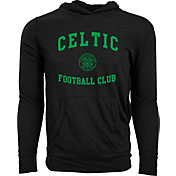 Levelwear Men's Celtic FC Armstrong Black Hoodie
