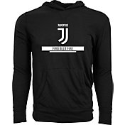 Levelwear Men's Juventus Armstrong Black Hoodie
