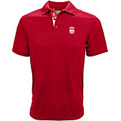 Levelwear Men's Liverpool Helium II Red Polo