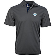 Levelwear Men's Manchester City Omaha Icon Black Polo