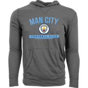 Levelwear Men's Manchester City Armstrong Heather Grey Hoodie