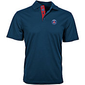 Levelwear Men's Paris Saint-Germain Omaha Icon Navy Polo