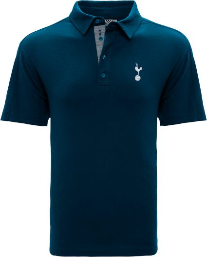 super cute f449b f75ef Levelwear Men's Tottenham Hotspur Icon Logo Navy Polo