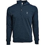 Levelwear Men's Tottenham Hotspur Hudson Logo Navy Quarter-Zip Pullover