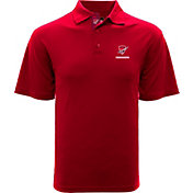 Levelwear Men's San Antonio Commanders DNA Red Polo