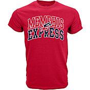 Levelwear Men's Memphis Express Performance Arch Red T-Shirt