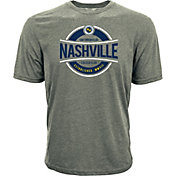 Levelwear Men's Nashville SC Logo Heather Grey T-Shirt