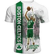 Levelwear Men's Boston Celtics Jayson Tatum Breakaway White T-Shirt