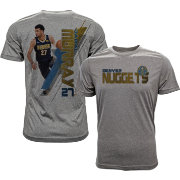 Levelwear Men's Denver Nuggets Jamal Murray Breakaway Grey T-Shirt
