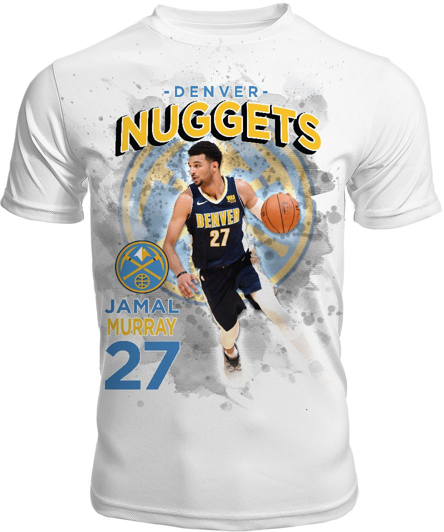 ... canada levelwear mens denver nuggets jamal murray center court white t  shirt 4f911 d9a58 9baa86708