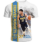 Levelwear Men's Denver Nuggets Jamal Murray Breakaway White T-Shirt