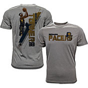 Levelwear Men's Indiana Pacers Myles Turner Breakaway Grey T-Shirt