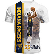 Levelwear Men's Indiana Pacers Myles Turner Breakaway White T-Shirt