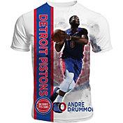 Levelwear Men's Detroit Pistons Andre Drummond Breakaway White T-Shirt
