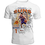 Levelwear Men's Phoenix Suns Devin Booker Center Court White T-Shirt