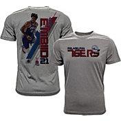 Levelwear Men's Philadelphia 76ers Joel Embiid Breakaway Grey T-Shirt