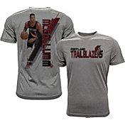Levelwear Men's Portland Trail Blazers C.J. McCollum Breakaway Grey T-Shirt