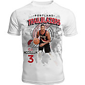 Levelwear Men's Portland Trail Blazers C.J. McCollum Center Court White T-Shirt