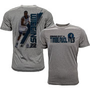 Levelwear Men's Minnesota Timberwolves Andrew Wiggins Breakaway Grey T-Shirt