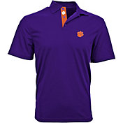 Levelwear Men's Clemson Tigers Regalia Omaha Polo