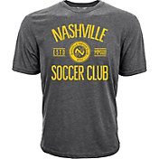 Levelwear Youth Nashville SC Logo Heather Grey T-Shirt