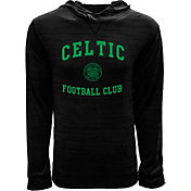 Levelwear Youth Celtic FC Anchor Black Heathered Hoodie