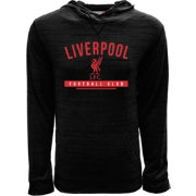 Levelwear Youth Liverpool Anchor Black Heathered Hoodie