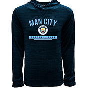 Levelwear Youth Manchester City Anchor Navy Heathered Hoodie