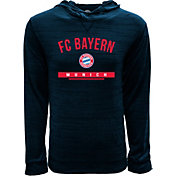 Levelwear Youth Bayern Munich Anchor Navy Heathered Hoodie